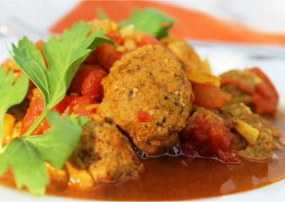 Curry Meat Ball